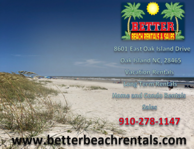 Better Beach Rentals and Sales